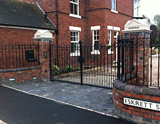 Iron Gate Installers Lichfield Staffordshire